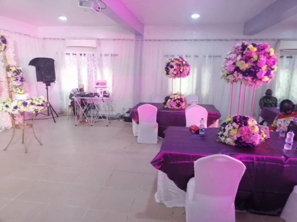 Event halls for rent in Lagos